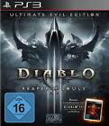 Diablo III: Reaper Of Souls -- Ultimate Evil Edition (Sony PlayStation 3, 2014, DVD-Box)