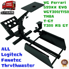 Racing Simulator,Adjustable Wheel Stand Fits Multi-platform/ALL Logitech/Fanatec