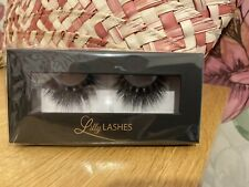 Lilly LASHES 3D Mink, False Eyelashes Brand New Boxed. 1 Pair - Up To 25 Uses