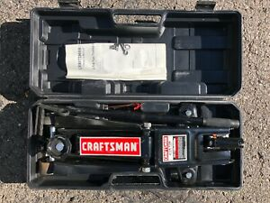 Craftsman 2.25 Ton Floor (Trolley) Jack With Case (Excellent Condition)