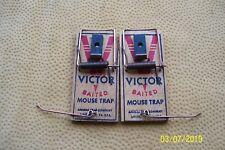 Vintage Victor Baited mouse Trap