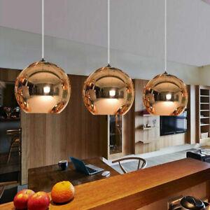 Modern 20cm Glass Globe Pendant Lamp Hanging Chandeliers Aisle/Hotel Lights