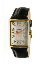 Pedre Unisex Gold-Tone Tank Watch 7775GX. New and unworn.