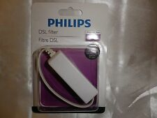 PHILIPS SDJ6086H/37 DSL FILTER TELEPHONE,PC LINE FILTER PHONE INTERNET NEW