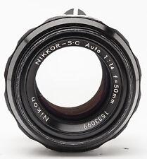 Nikon Nikkor-SC Auto 50mm 50 mm 1:1.4 1.4 4 analog