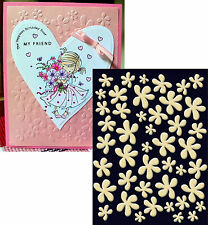 Craft Concepts Embossing folders FUNKY FLOWERS embossing folder All Occasion