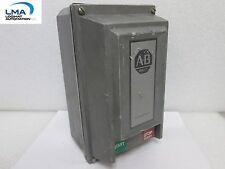 ALLEN-BRADLEY 609T-BOX SER. F SIZE 1 MANUAL MOTOR STARTER ENCLOSURE 1PH 3HP 230V
