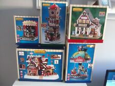 More details for lemax christmas - selection of lemax - several animated lighted and musical.
