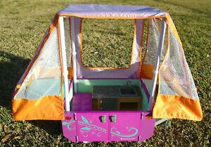 2016 Retired American Girl Doll Pop Up Camper