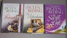LOT Jaclyn Reding THE PRETENDER ADVENTURER SECRET GIFT Highland Heroes 3 HC