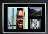 THE SHINING MOVIE AUTOGRAPHED MOUNTED PRINT