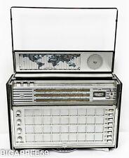 Norelco L6X38T Shortwave Classic Deco 1960's AM FM Shortwave Radio **James Bond*