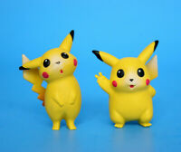 Pikachu Figure Nintendo Pokemon TOMY CGTSJ - Lot of 2