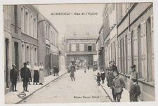 France postcard - Audruicq - Rue de l'Eglise