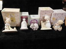 5 Precious Moments Figurines / 105945, C0019, 523631, 521779, 354538 / Lot #25