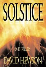 Solstice by David Hewson (1999, Hardcover)