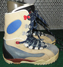 #28 , VINTAGE SIMS  MENS  SIZE 8 SNOWBOARD BOOTS,