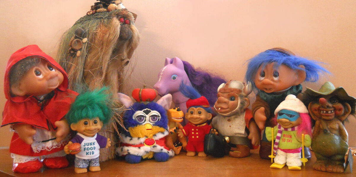 2nd Childhood Treasures and Trolls