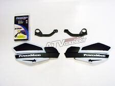 POWERMADD HANDGUARDS KTM ATV 525 XC HAND GUARDS WHITE BLACK HAND GUARD MOUNTS