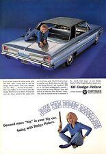 1966 Dodge Polara 4-Door PRINT AD