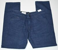 Hugo Boss Relaxed Fit Albany $178 Italy Cashmere Denim Stretch Men's Jeans NEW