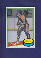Dave Hunter 1980-81 O-PEE-CHEE OPC Hockey #293 (NM) Edmonton Oilers
