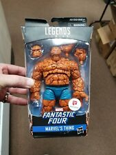 Marvel Legends Walgreens Exclusive Thing Fantastic Four dented box