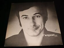 YVON DESCHAMPS<>L'ARGENT<>Lp Vinyl~Canada Press<>POLYDOR 542.508