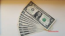 More details for selection of unique serial number us $2 & $1 uncirculated bill unc collection