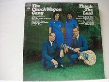 """The Chuck Wagon Gang """"Thank The Lord""""  LP CS-9993"""