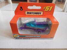 Matchbox Trailer + Jet-Ski in Purple in Box
