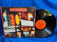 Hank Crawford LP Down on the Deuce Milestone 9129 Funk Jazz NYC VG++