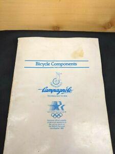 Vintage 1982 Campagnolo Bicycle Components brochure/catalog