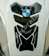BMW R1200GS DAKAR TANK PAD Black & Grey * NEW FUEL TANK PROTECTOR R1200GS