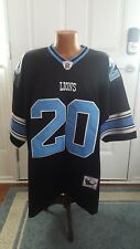 Barry Sanders Detroit Lions # 20 Mitchell Ness Throwback NFL Jersey Size 54