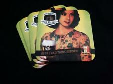 Collectable Oud Beersel Square Belgian Beer Mat / Coaster x4