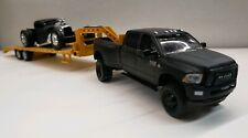 Murdered out RAM1/64 2018 Dodge 3500 LARAMIE LONGHORN 4x4 TRUCK hitchTow CUMMINS