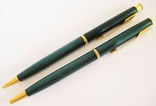 PARKER INSIGNIA JADE BALLPOINT PEN & PENCIL  SET  NEW IN BOX MADE IN USA