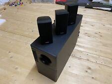 3x Bose Acoustimass Doppelcubes Lautsprecher Boxen mit Subwoofer