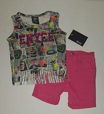 ENYCE Girls 2 Pc Set Shirt & Shorts Set Size 24 months
