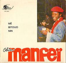 "MANFEÏ OBIN ""ME BITOUO NIN"" AFRO JAZZ FOLK LP 1978  BLOA NAN ERO 28523"