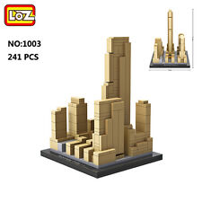 LOZ Architecture 1003 Rockefeller Center Mini Nano Blocks Diamond Building Toy