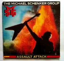 The MICHAEL SCHENKER GROUP Assault Attack LP VINYL 33 T CHR 1393 France 1982