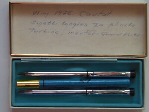 Garland - ball point pen and pencil set - original package