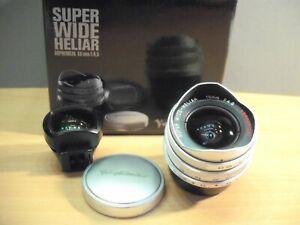 Voigtländer Super Wide Heliar 15mm