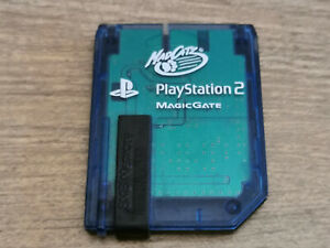 Playstation 2 Magic Gate - Mad Catz - Memory Card. PS2. Tested.