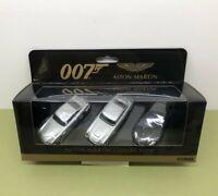 CORGI TY99284 JAMES BOND 007 ASTON MARTIN COLLECTION DB5 - V12 VANQUISH - DBS