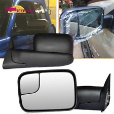 [Updated Style] 1998-01 Dodge Ram 1500 98-02 2500 3500 Power+Manual  Tow Mirrors