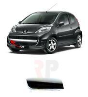 Per Peugeot 107 2009 - 2012 Griglia Paraurti Anteriore Cromo Modanatura Dx O/S