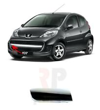 FOR PEUGEOT 107 2009 - 2012 FRONT BUMPER GRILLE CHROME MOLDING RIGHT O/S
